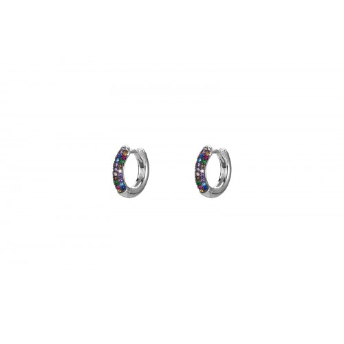 Orecchini Hoops Multicolour