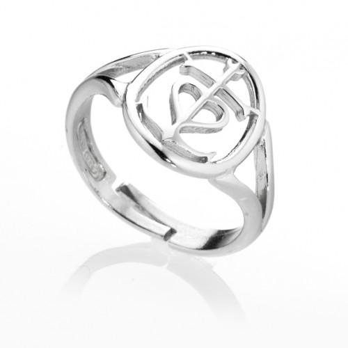anello cuore e ancora