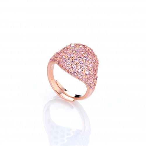 Anello Swarovski Pink