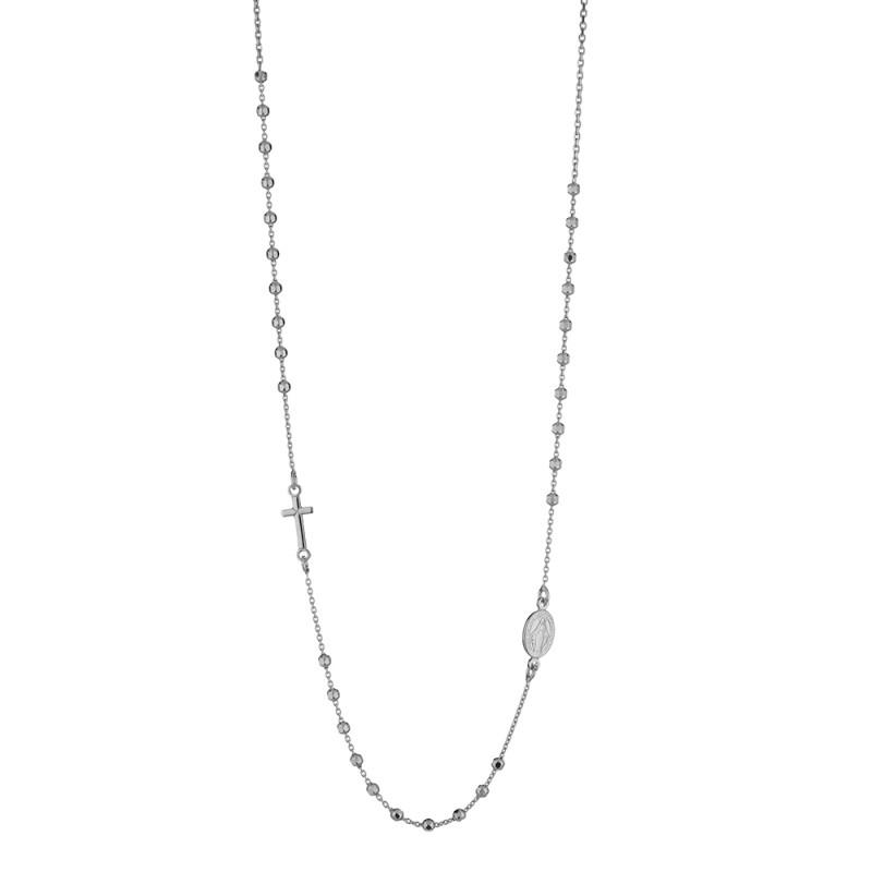 rivenditore di vendita d141f 9c2a2 Collana rosario girocollo